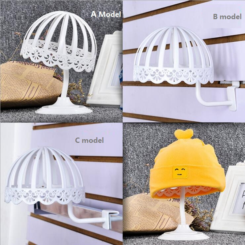 3 Size Hats Display Rack for Children Freestanding Plastic Ball Hat Stand Cap  Wig Holder Storage Display Rack-in Drying Racks   Nets from Home   Garden  on ... 582c8777512