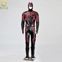 Hot Sale Custom Made Movie Daredevil Costume Suit Upgraded Version Men's Superhero Halloween Cosplay Costume for men