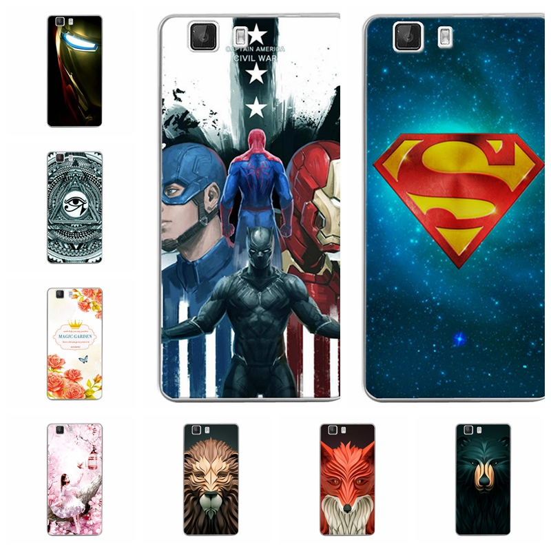 Attractive New Fashion Phone Case For Doogee X5 Soft TPU Silicone For Doogee X5 X5 Pro Back Cover Shell Coques 5 Inch Planet