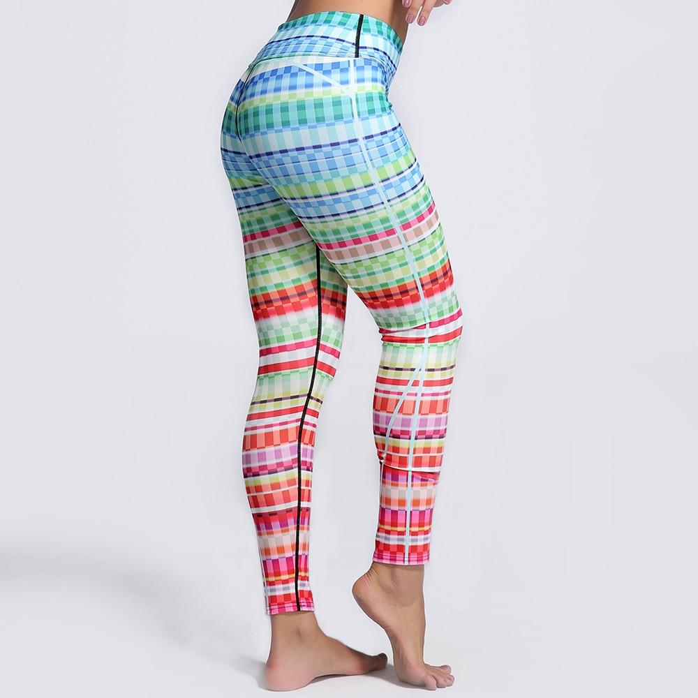 Creative 3D Printed Sporting Leggings Women High Elastic Slim Fitness Pants Casual Cloths For Women Push-up Workout Leggins 3XL