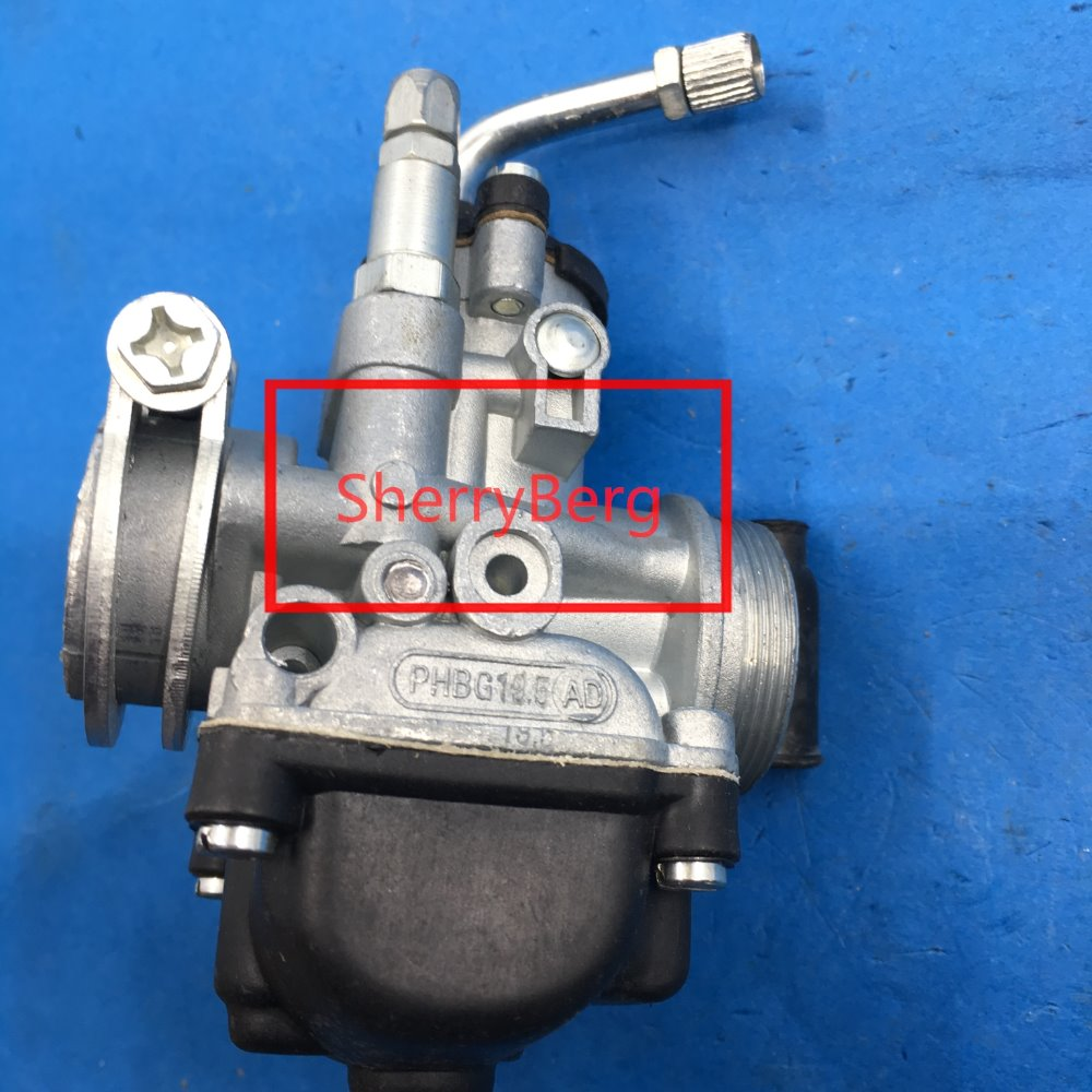 Free Shipping Carb CARBURATOR Moped For Scooter Carburetor PHBG19.5mm Clone For Dellorto Phbg 19 AD