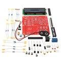 NPN PNP Mosfet DIY Kit Transistor Capacitância ESR Indutância Resistor LC Medidor Testador M168