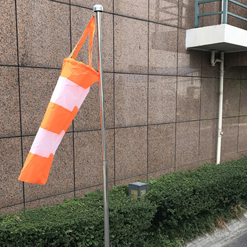 Many Size For Choice All Weather Nylon Wind Sock Weather Vane Windsock Outdoor Toy Kite,Wind Monitoring Needs Wind Indicator
