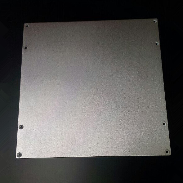3 D printer parts DIY Reprap Aluminium Build Platform Heated Bed Plate for Prusa 3D Printers 220*210*3 mm