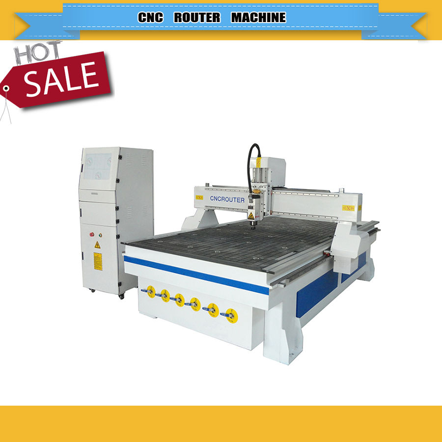 High Speed Cnc Wood Cutter  1325 Cnc Router For Wood Furniture Machine With Water Cooling