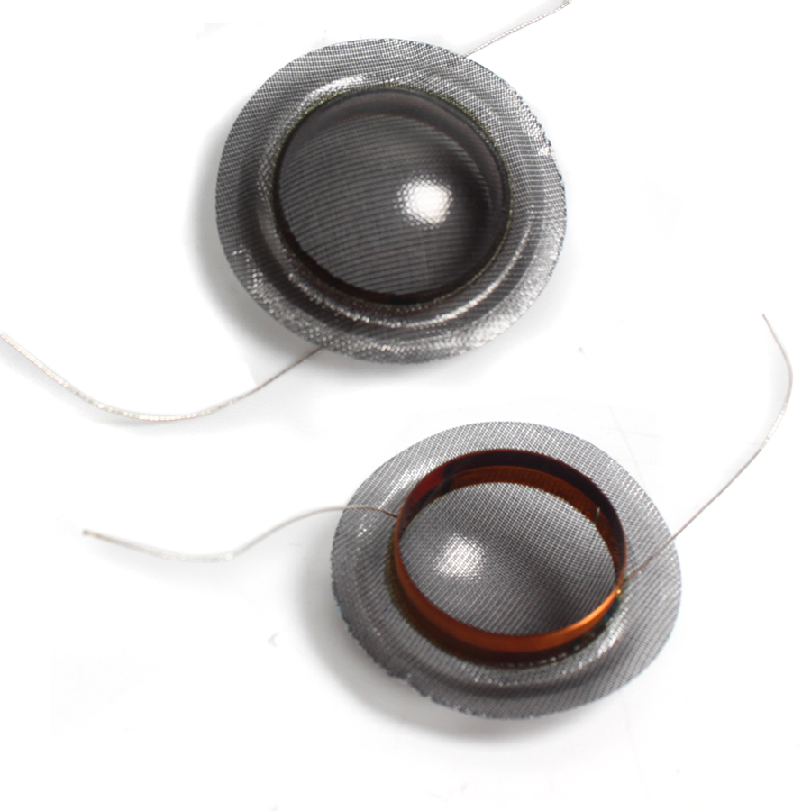 2PCS 19.43mm 19.5 Core Crystal Film 19.4 19.5 Core Tweeter Speaker Voice Coil Black Translucent Treble Ring Speaker Accessories