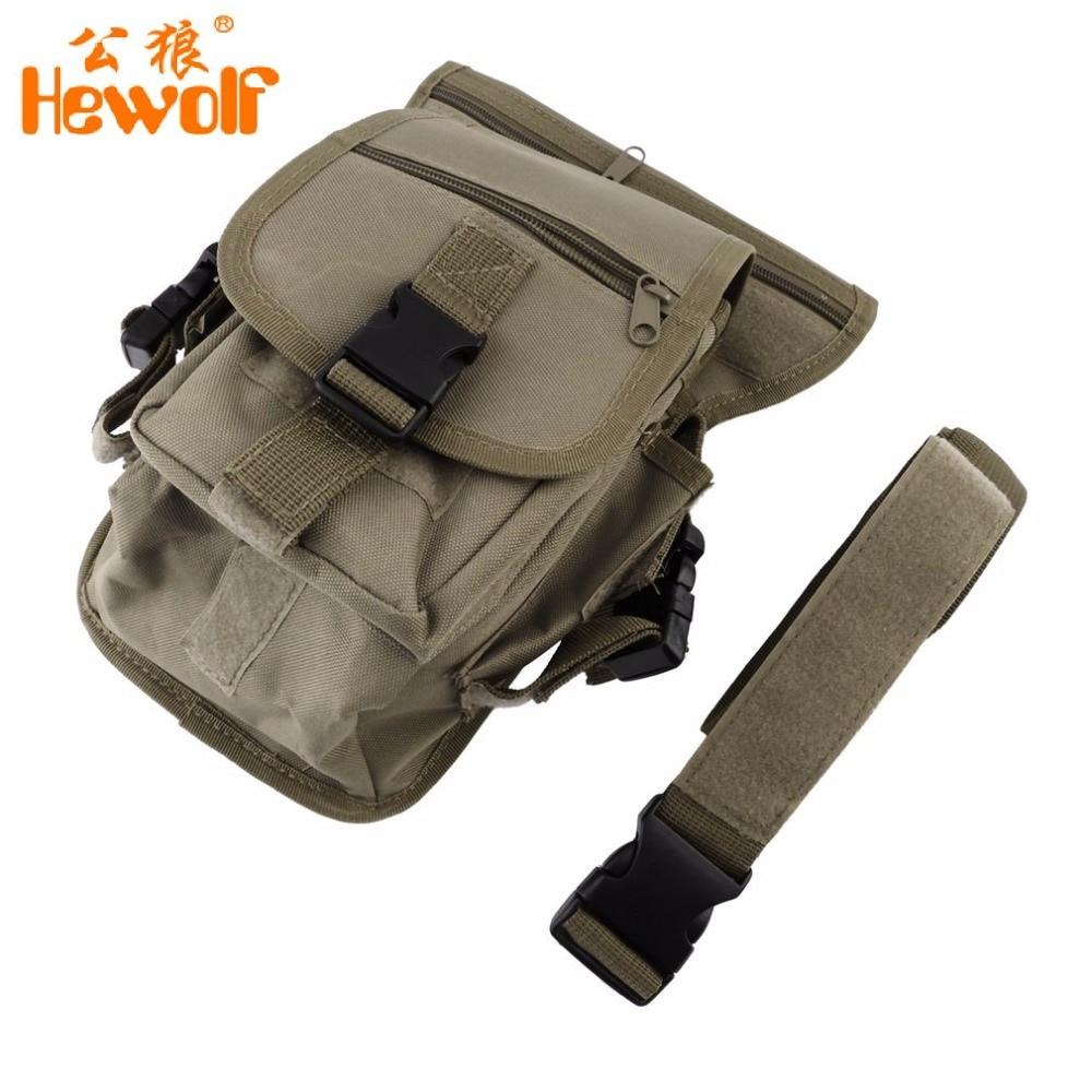 Multi-purpose Drop Leg Bag Waist Fanny Pack Belt Hip Bum Men Shoulder Bags Military Utility Thigh Pouch Bicycle Motorcycle drop shoulder plain coat with belt