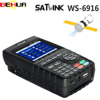 [Подлинный] Satlink WS 6916 HD DVB S2 Высокое разрешение Satlink 6916 спутниковый искатель 3,5 дюймов MPEG 2/MPEG 4 WS6916 спутниковое метр