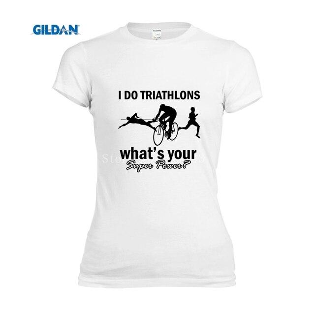 Populair 100% katoen 2017 zomer tops triathlon ontwerpen leuke t shirt &FR19