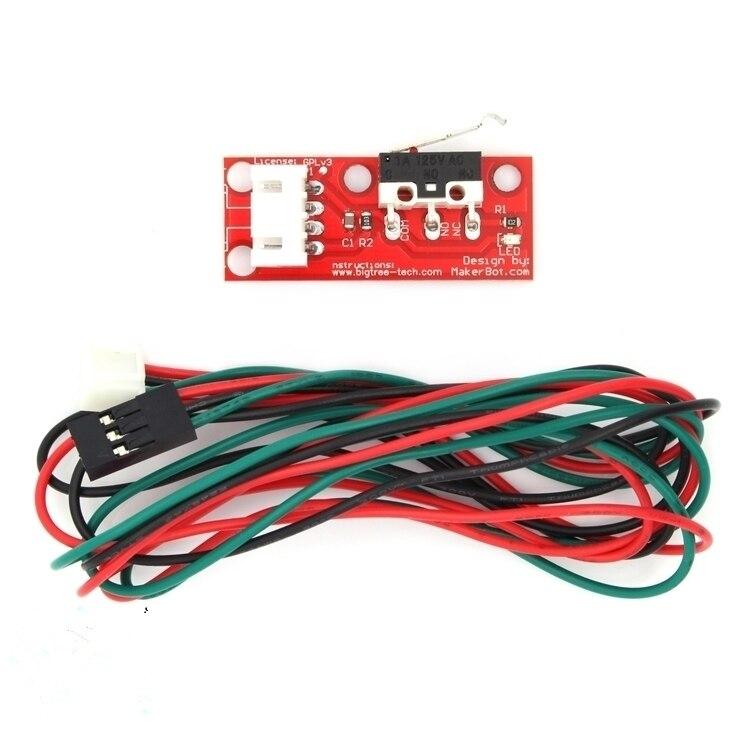 3pcs/lot Mechanical Endstop Sensor Mech Limit Switch Module Reprap Touch End Stop Mechanical Switching Toggle For 3d Printer