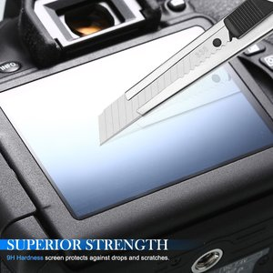 Image 5 - 2x 9H Tempered Glass LCD Screen Protector for Canon EOS 2000D T7 T100 3000D 1500D 5D Mark IV III 4 3 5Ds R / 77D 1DX Mark II 2