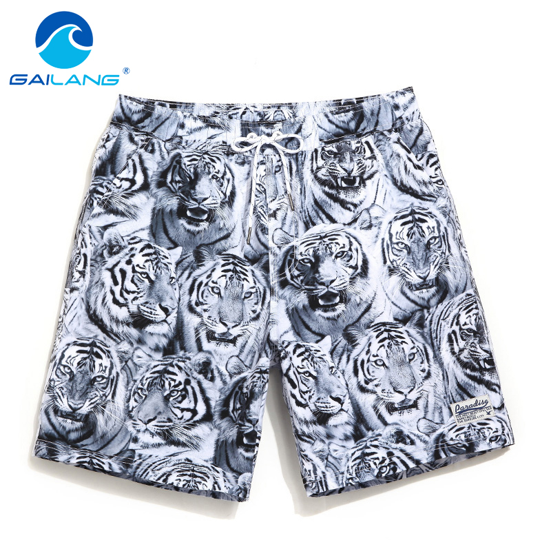 Gailang Brand Beach   Board     Shorts   Men Boxer Trunks   Short   Pants Bottoms Quick Drying Swimwear Swimsuits Surf   Shorts   Gay New