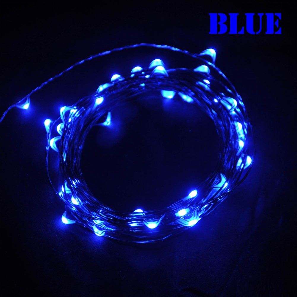 String Lights Big W : 2.5W 5m 50leds Multi Colored Copper Wire LED light string lights Fairy christmas lights LE075 ...