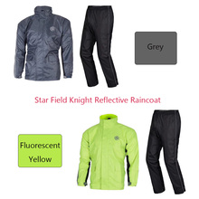Raincoat Motorcycle suit (clothes + trousers) Outdoor Star Field Knight Travel Reflective Safety