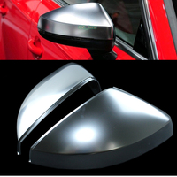New A3 8V S3 RS3 Silver Matt chrome Side Wing Mirror Covers Caps fit Audi A3 S3 2013 2014 2015 2016 2017