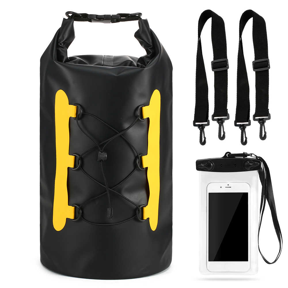 15L Waterproof Dry Bag High Quality Waterproof Dry Bag Outdoor Sport Swimming Rafting Kayaking Sailing Bag With Phone Bag