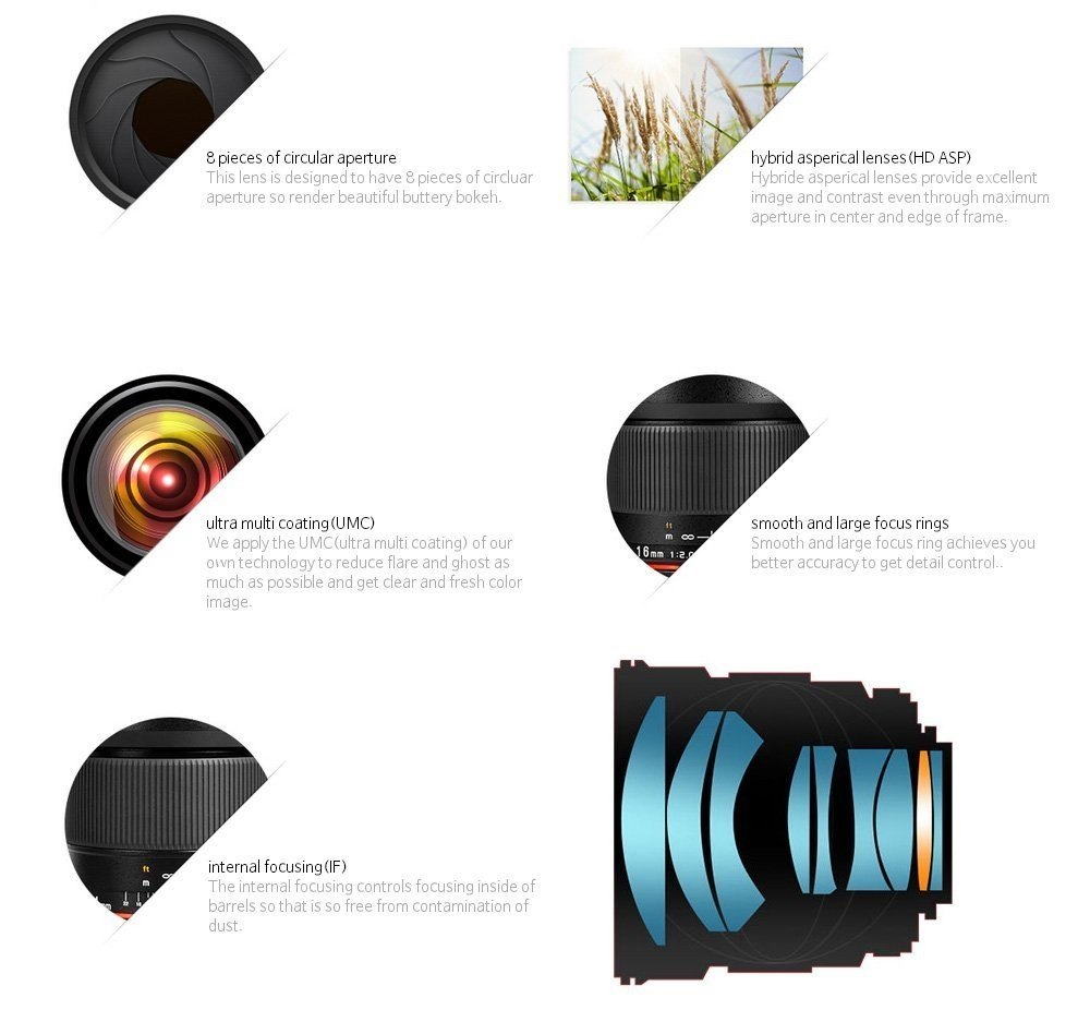 Lightdow 85mm F1.8-F22 Manual Focus Portrait Lens Camera Lens for Canon EOS 550D 600D 700D 5D 6D 7D 60D DSLR Cameras 14