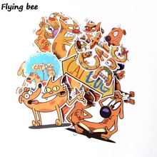 Get more info on the Flyingbee 14 Pcs Catdog Cute Waterproof Sticker for PVC Scrapbooking for Luggage Laptop Guitar skateboard DIY Decoration X0281
