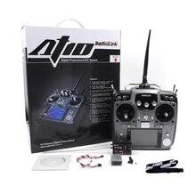 Systemu RadioLink AT10 II 2.4G 10CH Pilot Nadajnik R12DS Moduł Odbiornika Wysłać Napięcie Odpowiedź I Wiszące Pasa
