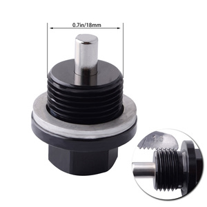 Image 2 - SPEEDWOW M18*1.5 Magnetic Oil Sump Nut Drain Oil Plug Screw Oil Drain Engine Nut