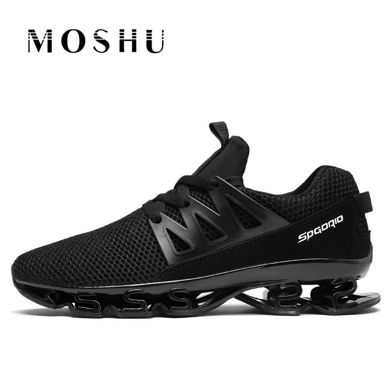 Summer /Autumn Men Mesh Sneakers Breathable Damping Casual Shoes For Male Hard-Wearing Anti-slip Comfortable Outdoor Flats 2018 hot sale shoes men hard wearing sneakers casual non slip fashion spring summer air mesh breathable walkin shoes size 39 48