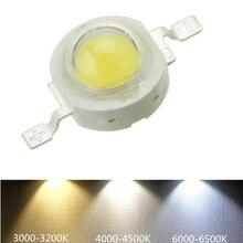 10-1000Pcs LED COB Lamp Chip 1W 3W 3.2-3.6V Input 100-220LM Mini Bulb Diode SMD For DIY Floodlight Spotlight Downlight