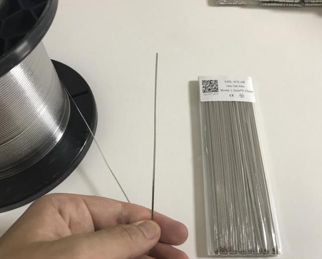 ALLMEJORES cellule solaire soudure 1.2*0.25mm Tabbing fil de soudure Ribbion étamé cuivre fil bande 10 m/Lot panneau solaire bricolage