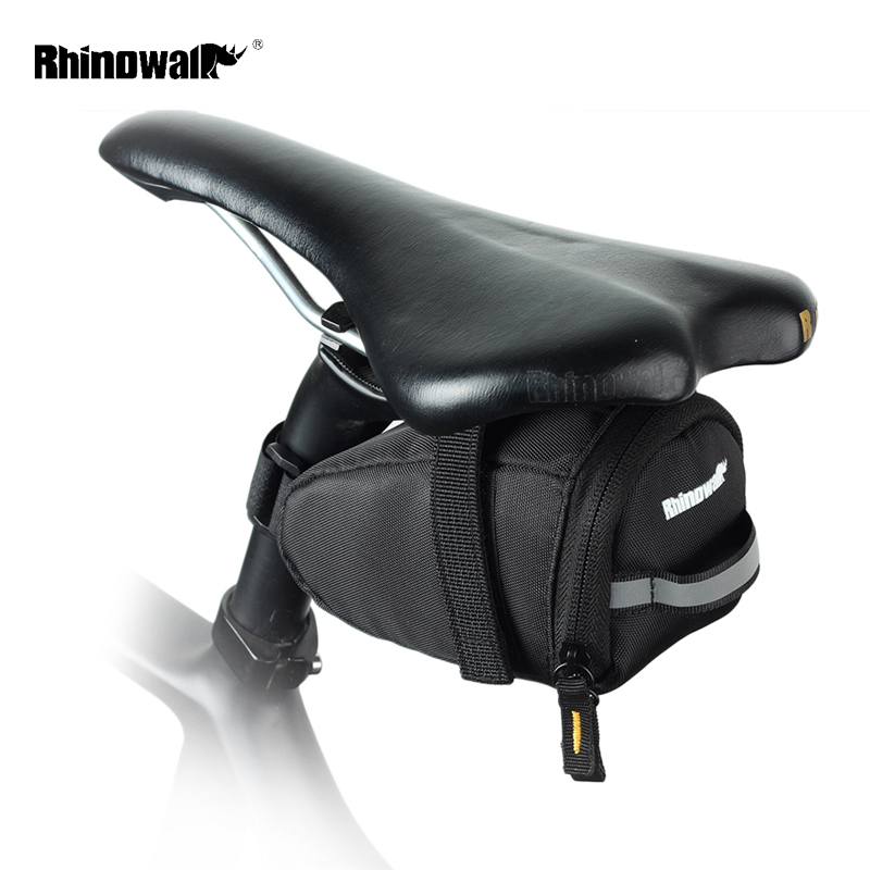 RHINOWALK Small Bicycle Saddle Bag Waterproof MTB Mountain Bike Rear Back Under Seat Bag Tail Bag Seatpost Cycling Accessories rhinowalk 10l 100% waterproof bike saddle bag seat bike mountain bike accessories