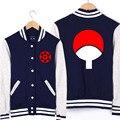 Naruto Толстовки Аниме Бейсбол Костюм мужская Куртка Пальто Осень-Зима Студент Кофты