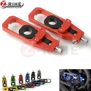 motorcycle right left chain adjusters with tensioner Catena reel for Kawasaki Z900 Z 900 motorcycle Accessories