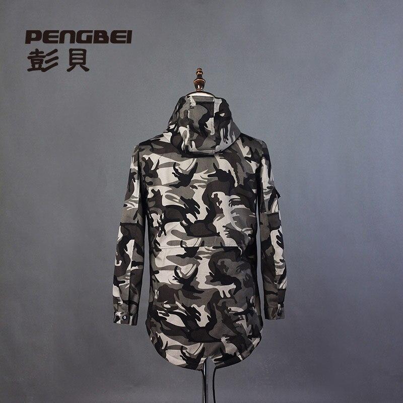 Hip Hommes Nouveau Militaire Manteau En Veste Air De Longue Sport Multi Vestes Tranchée Plein Punk Automne Casual Hop Camouflage 2015 0IqCB