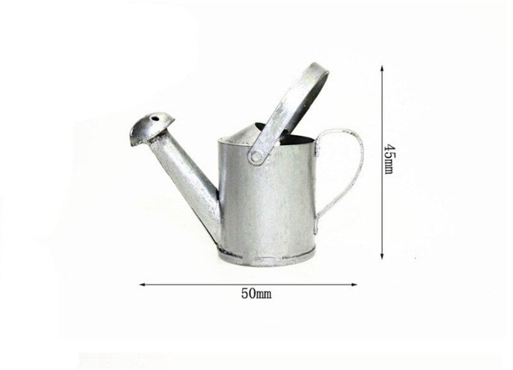Кукольная Миниатюра 1:12 игрушка сад олова вода может 4.5*5 см для Подарок для маленьких ...