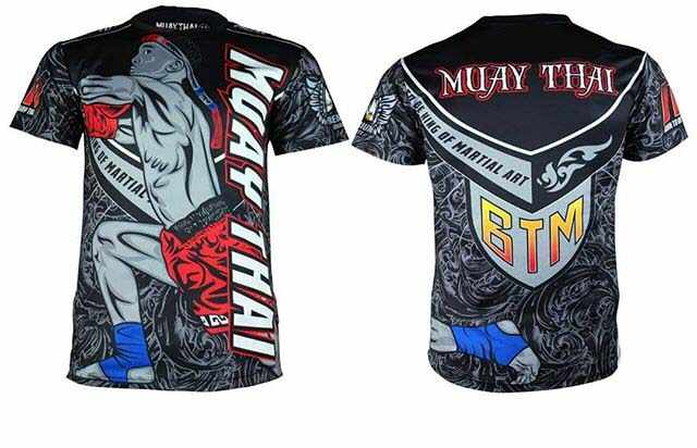 تي شيرت جديد من Muay التايلاندية لعام 2019 مطبوع قميص Mma Rashguard Gi BJJ بأكمام قصيرة جيو جيتسو قميص رجالي للياقة البدنية قمصان الملاكمة