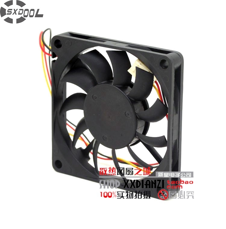 SXDOOL 701012C NF2 7010 7CM DC 12V Brushless fan 0.20A CPU cooling fan Slim