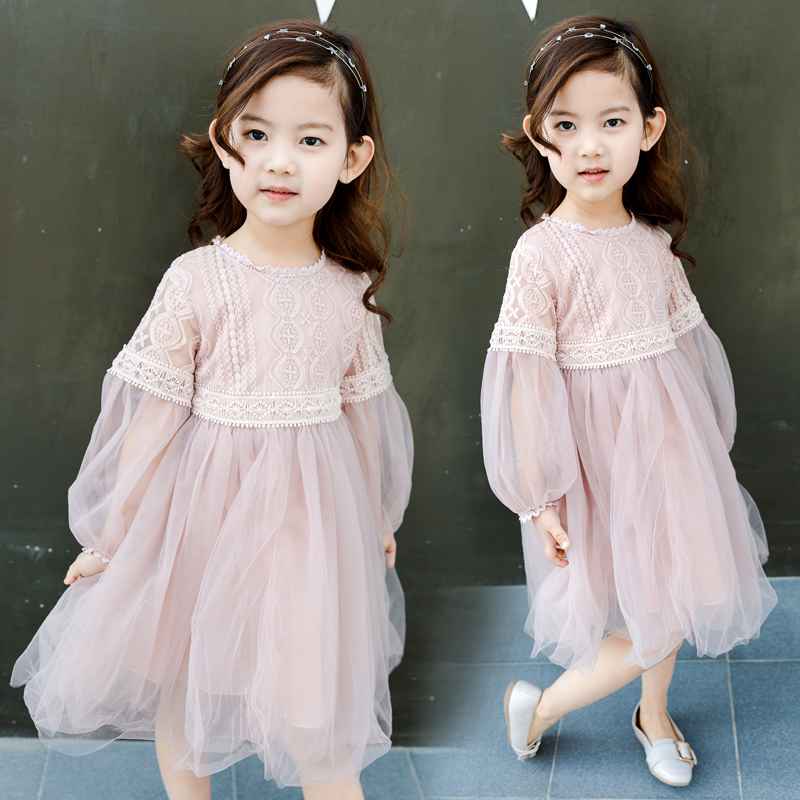 White Girl Fashion: White Dresses Girl Summer Clothes 2017 Korean Kids Fashion