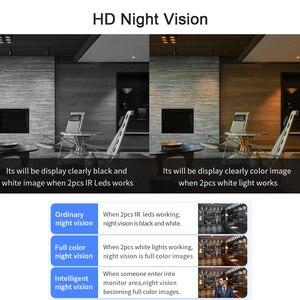 Image 4 - INQMEGA Wifi Outdoor Ip kamera 1080P 720P Wasserdicht Wireless Security Kamera Zwei wege Audio Nachtsicht P2P Kugel CCTV Kamera
