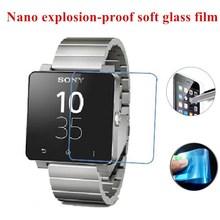 Nano explosionsgeschützte Weichen Glas Clear Schutzfolie Schutzfolie für Sony SmartWatch 2 SW2