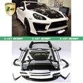 Один Комплект Углеродного волокна WALD Защита Тела Комплект Для Porsche 958 Cayenne 2011-2014 модификация автомобиля Авто стайлинг Бесплатная TNT доставка