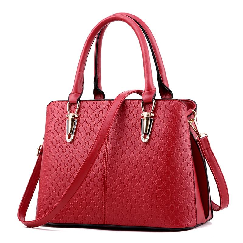 35d5478c14 ᐅ10 Colors Ladies Fashion Women PU Leather Handbags Women s ...