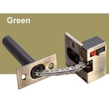 1 шт. литая дверная цепь для безопасности из нержавеющей стали, сверхпрочная защелка для ворот, защитный дверной замок QJ888