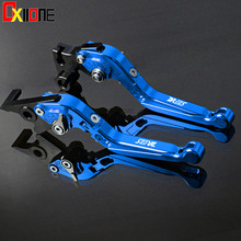 цена на Motorcycle CNC Adjustable Folding Extendable Brake Clutch Lever Set For Suzuki DR650S 1994-2010 2009 2010 7 Styles
