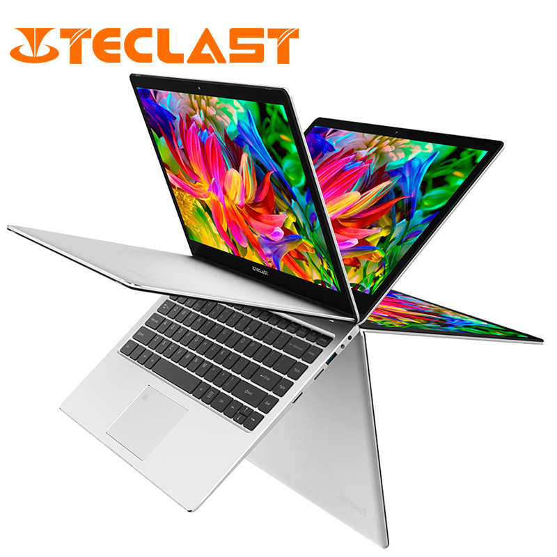 Teclast F6 Pro 13.3 inch Laptop Intel Core m3-7Y30 Dual Core 8GB RAM 128GB SSD Windows10 Rotatable Fingerprint Notebook