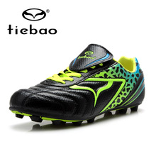 New TIEBAO Wholesale Men Woman Soccer Shoes Outdoor Long Spike Footbal