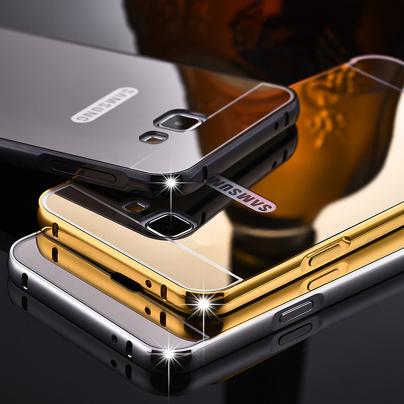 Luxury Metal Case For Samsung Galaxy A3 A5 A7 2017 A320 A520 A720 Plating Aluminum Frame