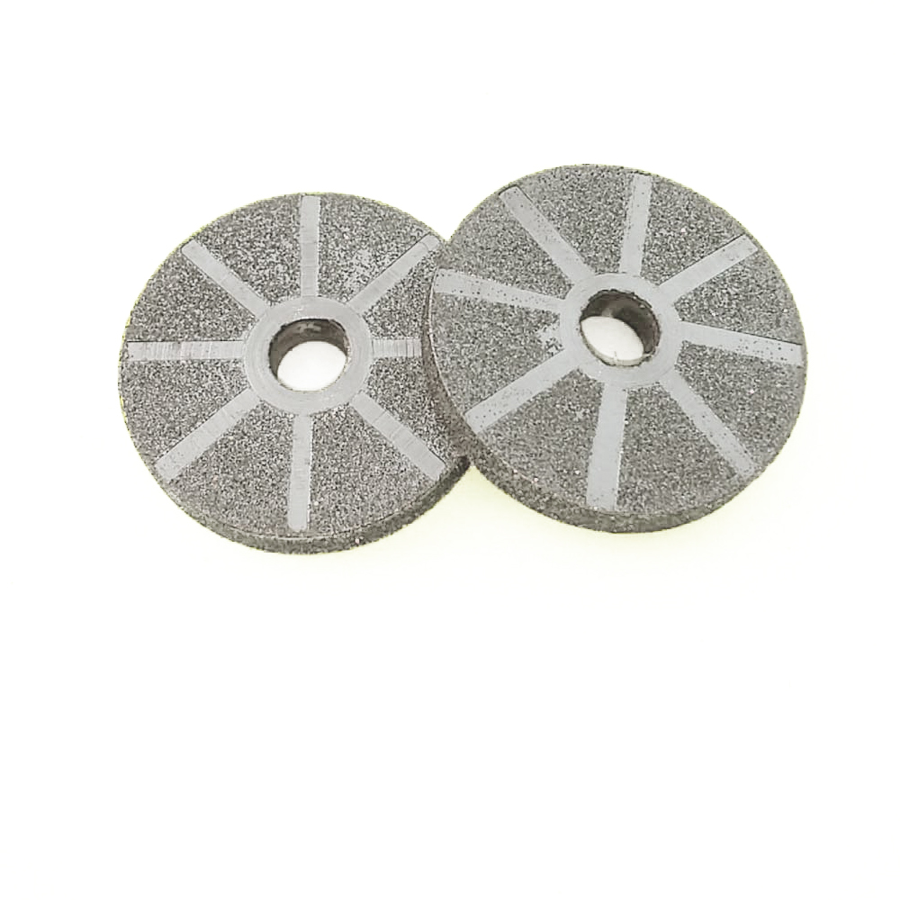 Cutting Blade Electroplated Diamond Grinding Wheel Grinding Disc  Drive Wheel Motor Saw Blade Accessories  For Abrasive Tools 8 200mm diamond dry cutting disk saw blade plate wheel with long short protective teeth for dry cutting granite sandstone