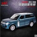 Nuevo Range Rover Caballos Dobles 1:32 modelo de simulación de Aleación de coche SUV De Lujo Hijo Niños tire hacia atrás coche de juguete de regalo