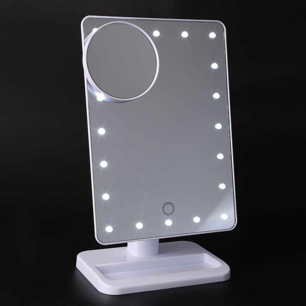 mesa de espejo de maquillaje con luz porttil led de la lmpara luminosa mesa