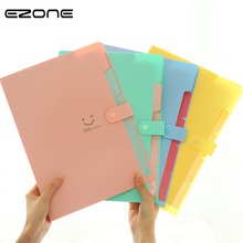 EZONE, Сумка для документов, папка для файлов, расширяющийся кошелек, 5 ячеек, переносная сумка для органов, А4, бумага для органайзера, держатель для офиса, школьные принадлежности, подарок