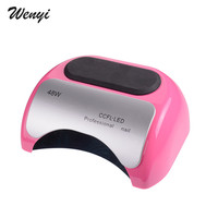 New Professional 48W CCFL LED UV Light Lamp Nail Dryer For Nail Gel Polish Curing Nails Lamp Dryers With Induction Timer