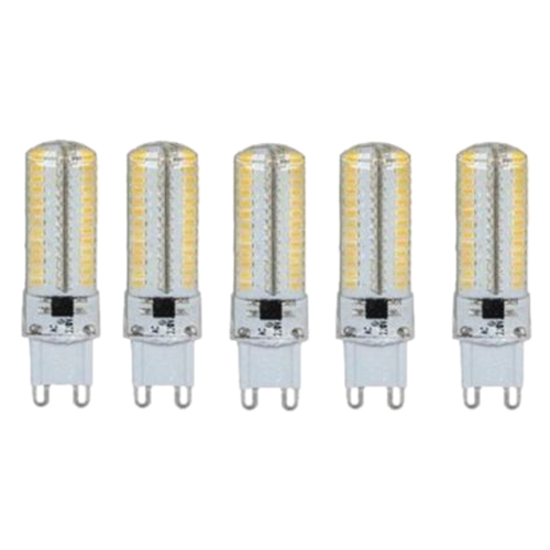 5X G9 8W Led 2835SMD Capsule Bulb Light Bulb Lamps Replace Halogen 200-240V ( Wattage: G9 8W ,Not-Dimmable )
